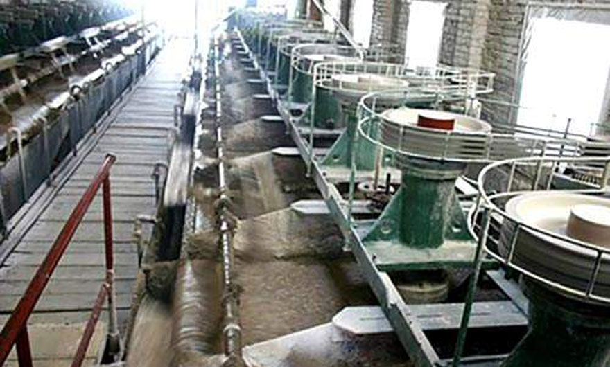 安徽沙坪沟钼矿选矿生产