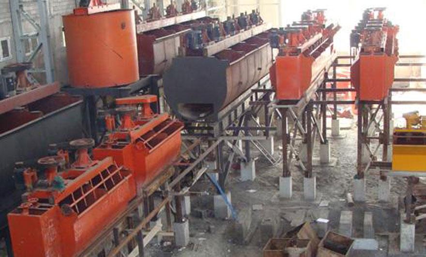 云南750吨/天铜矿浮选生