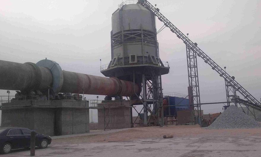 山东青岛日产600吨石灰回