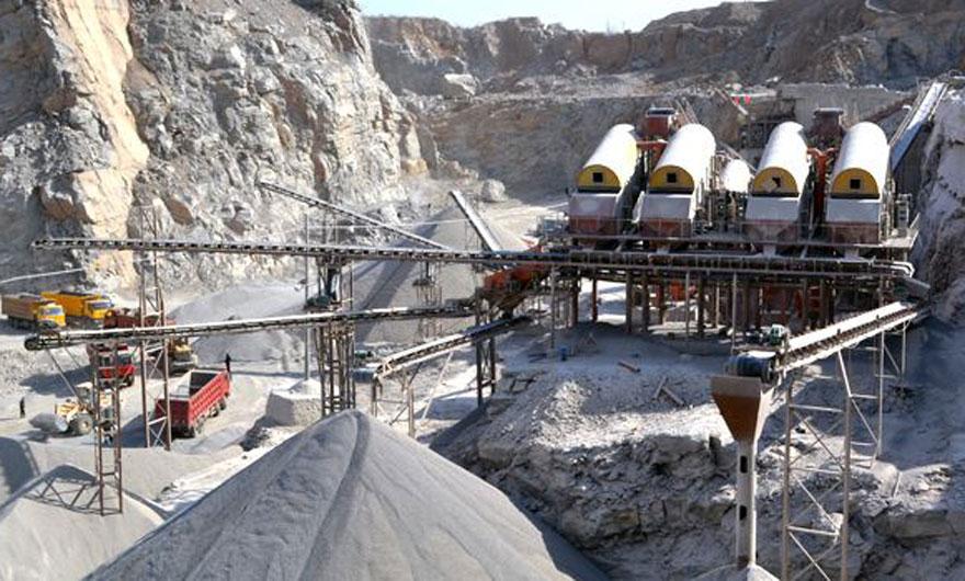 陕西石灰石制砂生产线