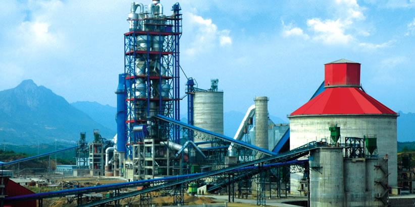 水泥生产设备工艺流程图
