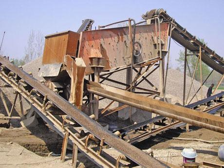 制砂生产线不受水源和环境的限制,在水资源匮乏的地方也可以进行人工石料生产